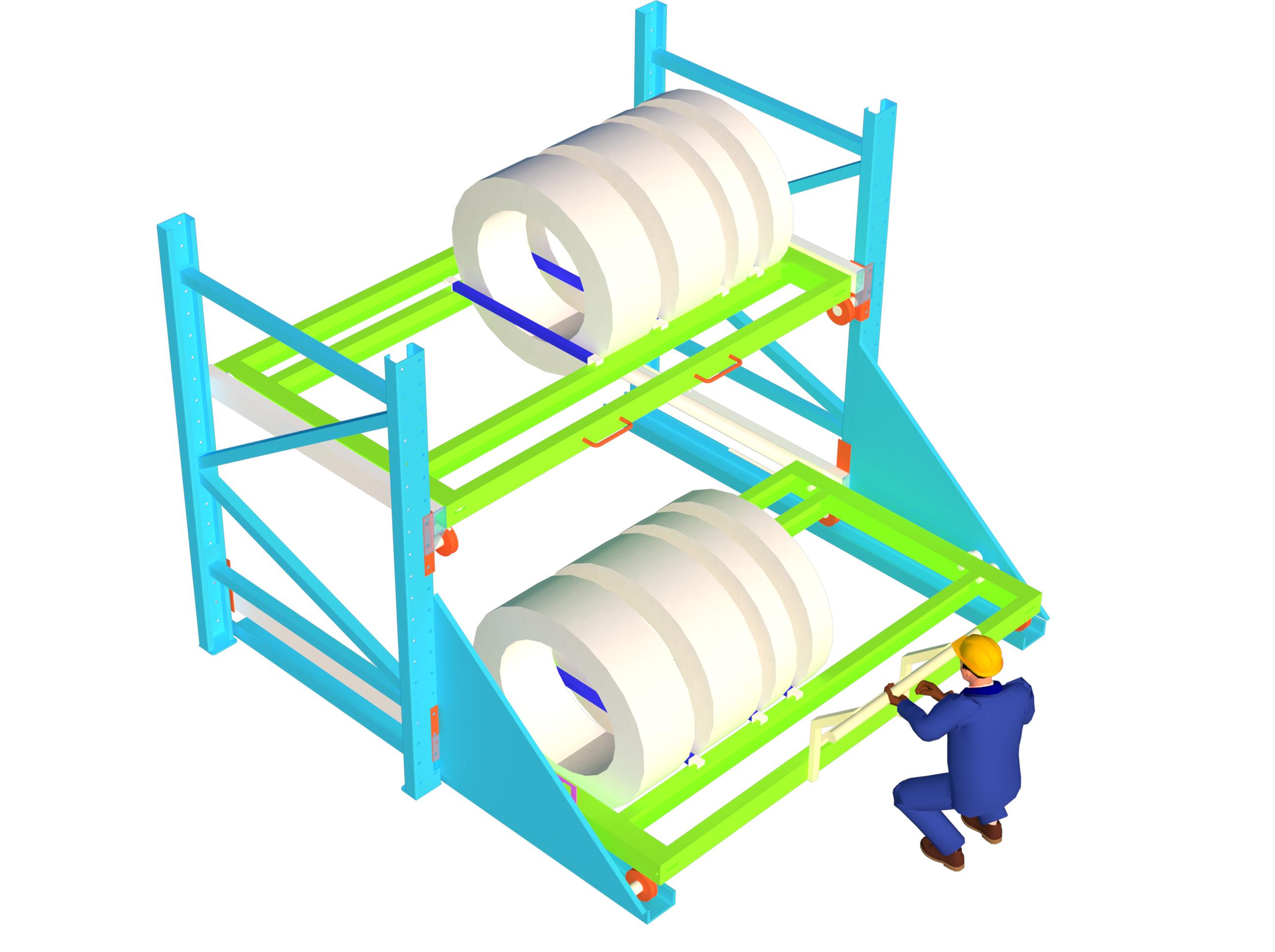 Slide Rack,
